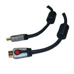 BLISTER GOLD PLATED HDMI MALE/MALE - 1,8HS+ETHERNET DIGITUS