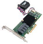 Adaptec RAID 71605Q with maxCache 3.0, SAS/SATA, 16port, Low Profile MD2 - Single
