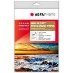 Photo Paper Inkjet A4 260gr (20 Sheets) High Gloss Microporous