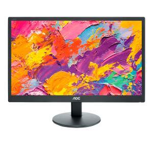 Monitor E970swn 18.5in 1366x768 700:1 200cd/m2 D-sub DVI-d Black