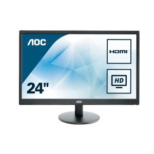 Monitor E2470swhe 23.6in 1080p 60hz 1000:1 250cd/m2 5ms D-sub 2x Hdmi