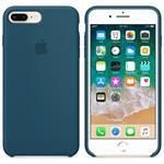 iPhone 8 Plus/7 Plus Silicone Case - Cosmos Blue