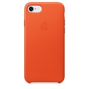 iPhone 8/7 Leather Case - Orange