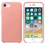 iPhone 8/7 Leather Case - Soft Pink