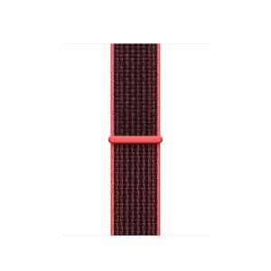 38 Mm Nike Sport Loop, Bright Crimson / Black