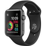 Watch Series 1, 38mm Space Grey Aluminium Case With Black Sport Band