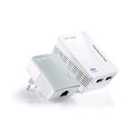 AV600 Powerline Wi-FI KIT Qualcomm 300Mbps at 2.4GHz 802.11b/g/n 600Mbps Powerline HomePlug AV 2 Fas