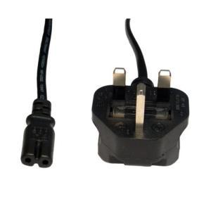Laptop Power Cord Figure 8 1.8m Black