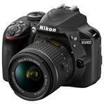 Digital Slr Camera D3400 Kit 24.2 Mpix With Af P 18-55 Vr