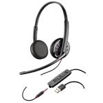 Blackwire C325-m Corded USB Headset With 3.5mm Connection Over-the-head Binaural Microsoft
