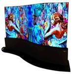 Digital Signage 65in 65ee5c Curved Dual-view Oled Flat Panel 1 X 3