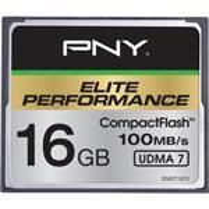 Compact Flash Elite Performance 16GB Udma 7 100mb/s Write 50mb/s