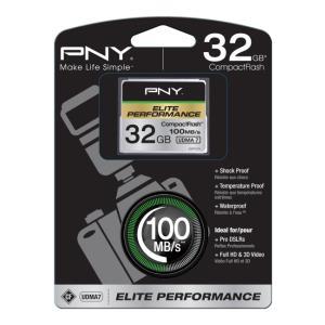 Compact Flash Elite Performance 32GB Udma 7 100mb/s Write 50mb/s