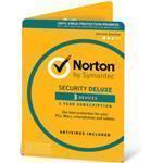 Norton Security Deluxe (v3.0) 1 User 3 Device 12 Months Esd