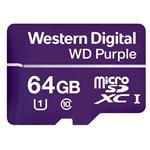 WD Purple mircoSD 64GB Class 10 UHS