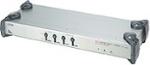 KVM Switch Rackmount/desktop 4-port At/ps2 (64 Pcs Via Daisy Chain)