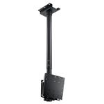 Ceiling Mount Pole/height Adjustable 92.4cm-142.4cm/max 60kg/per Side/black