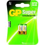 GP Battery Super Alkaline Cylindrical-cell Gp910a Lr1 1.5v/ 2bat