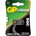 Gp Batteries Alkaline Photo Lithium Lr44 Gpcr123a 3.0v/ 1bat
