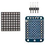 Mini 0.7i 8x8 LED Matrix W/i2c Backpackultra Bright White
