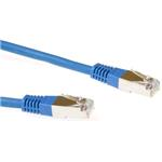 CAT6 Sstp Lszh Patch Cable Blue 0.5m