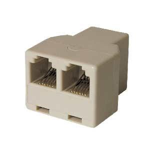 Modular Rj Adapter 1/1 3x Tj12f